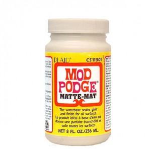 Матовый Клей лак для декупажа 11301 Mod Podge Plaid