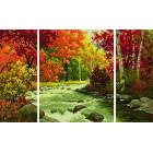 Осенний поток Триптих Раскраска по номерам Schipper (Германия) 9260779