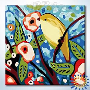 Ранняя пташка Раскраска по номерам на холсте Hobbart