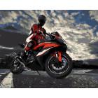 Мотоциклист Раскраска картина по номерам на холсте ZX 20927