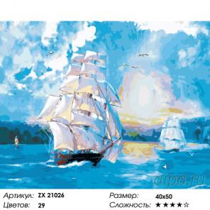 Разгар морского боя Раскраска картина по номерам на холсте