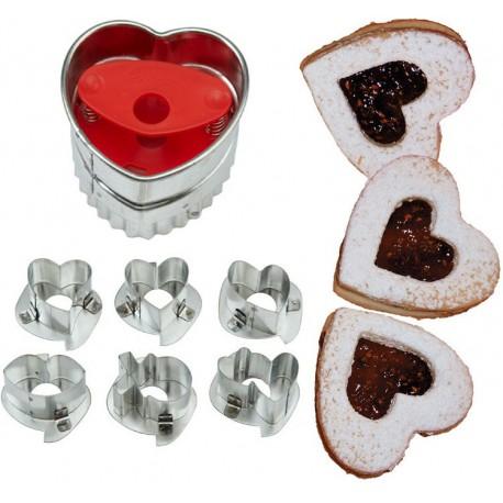 Линзер Сердце Формы для вырезания печенья Wilton ( Вилтон )