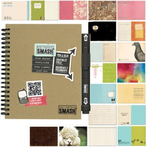 Мини Смэшбук блокнот книжка для скрапбукинга Mini Smash K&Company