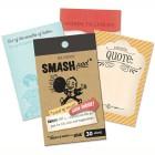 Торжественные слова Блокнот Smash ( Смэш ) для скрапбукинга Word of Mouth K&Company