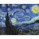 Звездная ночь. Ванг Гог Раскраска картина по номерам на холсте ZX 20221