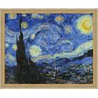 N118 Звездная ночь. Ванг Гог Раскраска картина по номерам на холсте
