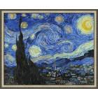 N143 Звездная ночь. Ванг Гог Раскраска картина по номерам на холсте