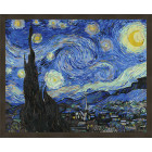 N181 Звездная ночь. Ванг Гог Раскраска картина по номерам на холсте