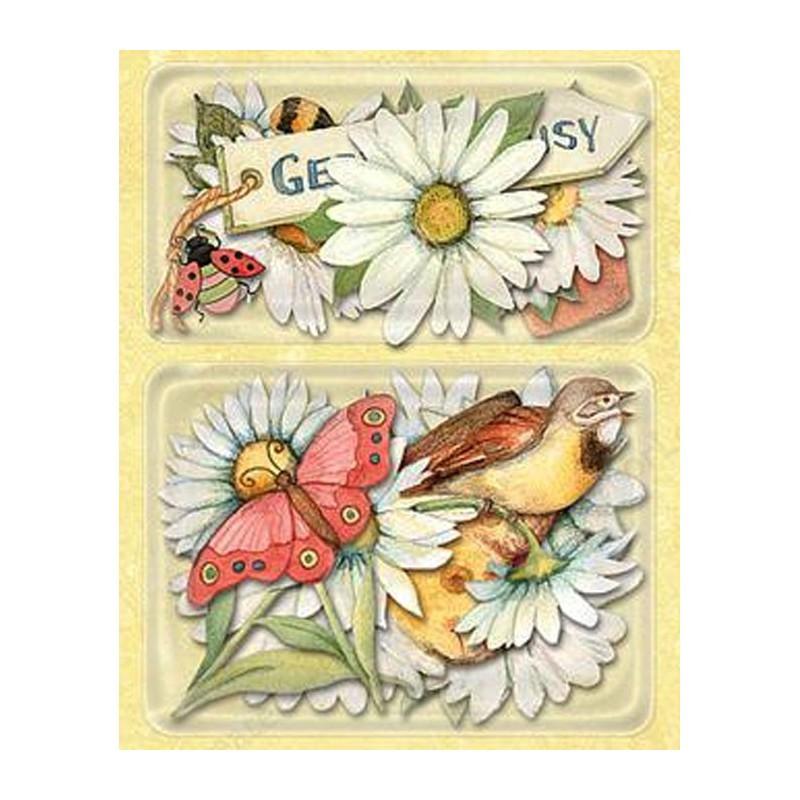 открытки ромашки в скрапбукинге морского дна океанариуме