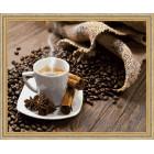 N118 Кофе с корицей Раскраска картина по номерам на холсте