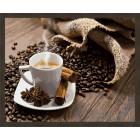 N181 Кофе с корицей Раскраска картина по номерам на холсте
