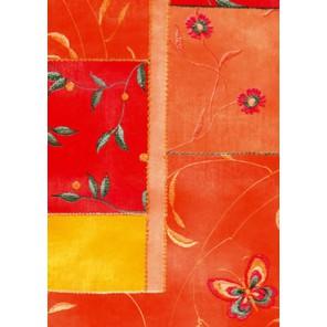 Оранжево-красные прямоугольники Бумага для декопатча Decopatch