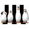 Пингвины спрятались Раскраска картина по номерам на холсте