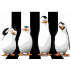 Пингвины спрятались путешественники Раскраска картина по номерам на холсте
