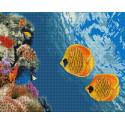Коралловый риф Алмазная вышивка мозаика на подрамнике