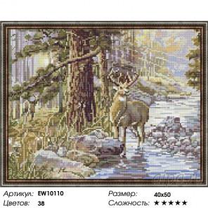 Количество цветов и сложность Царь леса Алмазная вышивка мозаика на подрамнике EW10110