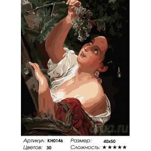Количество цветов и сложность Итальянский полдень Раскраска картина по номерам на холсте KH0146