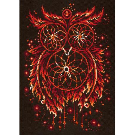 Пламя души Набор для вышивания Чудесная игла 88-11