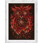 В рамке Пламя души Набор для вышивания Чудесная игла 88-11
