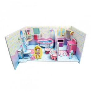 Ванная комната (мини серия) 3D Пазлы Zilipoo 689-2E