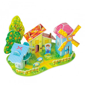 Лесной домик 1 (мини серия) 3D Пазлы Zilipoo 689-2L
