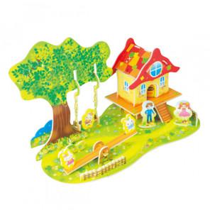 Лесной домик 3 (мини серия) 3D Пазлы Zilipoo