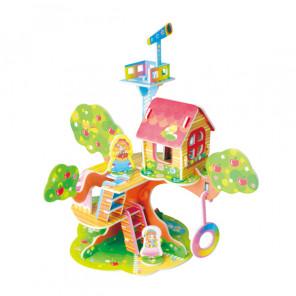 Лесной домик 4 (мини серия) 3D Пазлы Zilipoo 689-2O