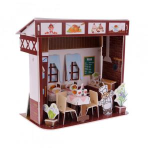 Западный ресторан 3D Пазлы Zilipoo