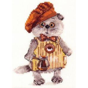 Басик бариста Набор для вышивания Алиса