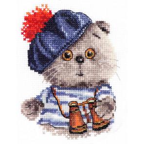 Басик моряк Набор для вышивания Алиса