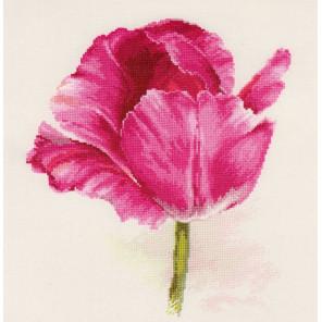 Тюльпаны. Малиновое сияние Набор для вышивания Алиса