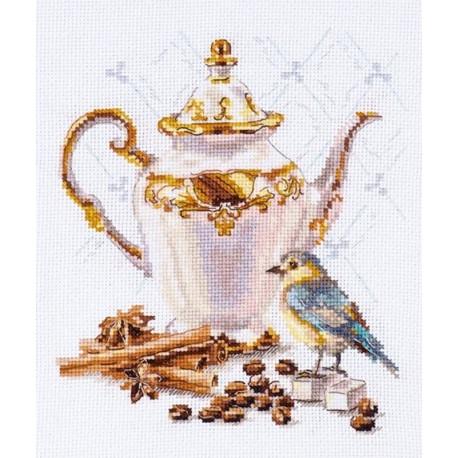 Ценитель кофе Набор для вышивания Алиса 5-21