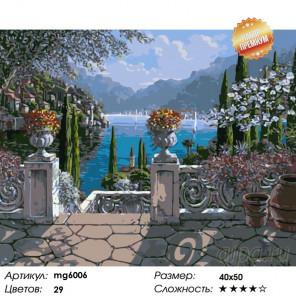 Летняя идиллия Раскраска картина по номерам на холсте