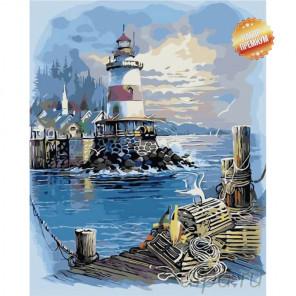 Надежда моряка Раскраска картина по номерам на холсте