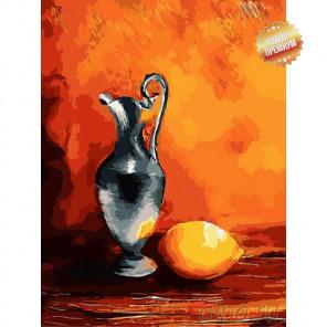 Количество цветов и сложность  Теплый натюрморт Раскраска картина по номерам на холсте ME1058