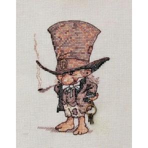 Джентельмен в шляпе Набор для вышивания Neocraft