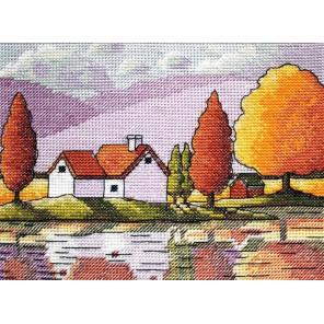 Осеннее отражение Набор для вышивания Neocraft ЦТ-02