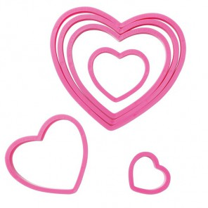 Сердца Формы для вырезания печенья Wilton ( Вилтон )
