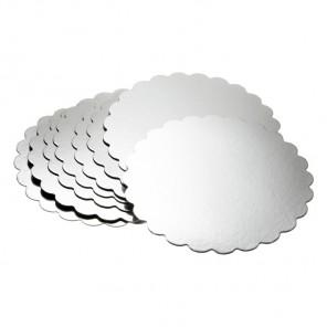 Серебристая круглая основа для торта 30,5см Wilton ( Вилтон )