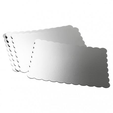 Серебристая прямоугольная основа для торта Wilton ( Вилтон )