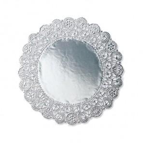 Серебро Салфетки 10см под торт Wilton ( Вилтон )