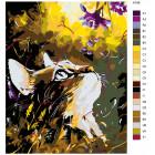 Раскладка Аромат цветов Раскраска картина по номерам на холсте A186
