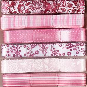 Parkstone Розовый набор Ленты для скрапбукинга, кардмейкинга Docrafts