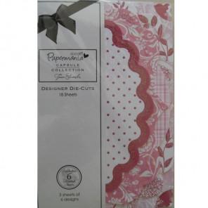 Parkstone Pink Набор декоративных элементов для скрапбукинга, кардмейкинга Docrafts