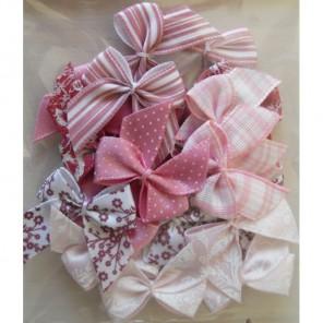 Parkstone Pink Бантики Украшения для скрапбукинга, кардмейкинга Docrafts