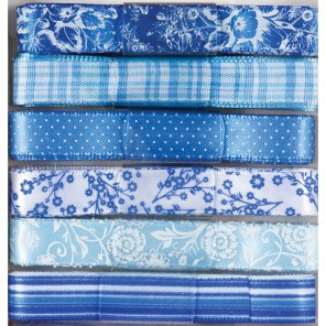 Burleigh Blue набор Ленты для скрапбукинга, кардмейкинга Docrafts