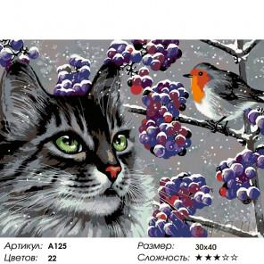 Интересный разговор Раскраска картина по номерам на холсте A125