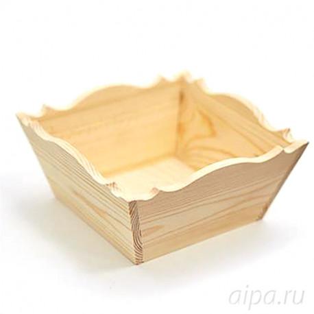 Эклер Конфетница деревянная К1919Э