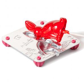 Зайчик Форма для изготовления леденцов, конфет Л0045