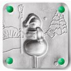 Снеговик Форма для изготовления леденцов, конфет Л0018
